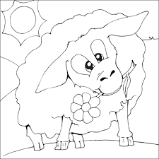 sheep colouring