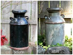 Old Milk Can Decorating Ideas Milk Can Decorating Ideas Thing To Having A Real Mccoy Rusty