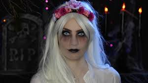video glam ghost halloween makeup tutorial hello gorgeous by