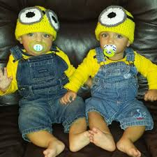 Baby Minion Costume Halloween Costumes For Twins That Will Win You Over Twice Huffpost
