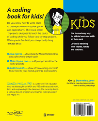 coding for kids for dummies amazon co uk camille mccue
