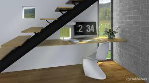 bureau sous escalier bureau sous escalier meilleur de bureau sous l escalier dans villa d