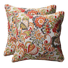 Best Fabric For Outdoor Furniture - decor u0026 tips outdoor floral throw pillows sunbrella pillows with