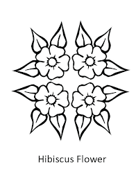 coloring pictures of hibiscus flowers hibiscus coloring page hibiscus coloring page hibiscus flower