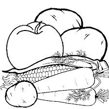99 dessins de coloriage légumes à imprimer