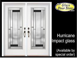 Exterior Glass Door Inserts Hurricane Impact Glass Doors For Ta Florida Hurricane Protection