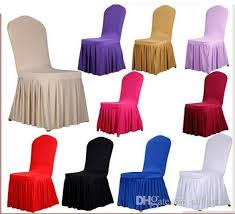 banquet chair covers cheap chair skirt cover wedding banquet chair protector slipcover decor
