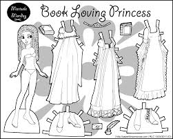 four princess coloring pages to print u0026 dress dolls free paper