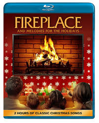 amazon com fireplace and melodies for the holidays blu ray