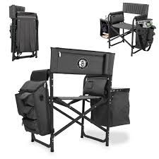 Folding Chair Backpack Brooklyn Nets Picnic Time Fusion Backpack Chair With Cooler