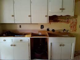 Kitchen Cabinets New by Repainting Old Kitchen Cabinets And Making A New One The