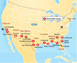 map usa los angeles map usa major tourist attractions maps