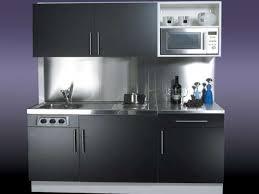 Kitchen Exquisite Compact Kitchen Design 2017 Flared Black