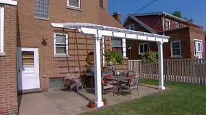 How To Frame A Patio Roof by How To Plan For Building A Patio Hgtv