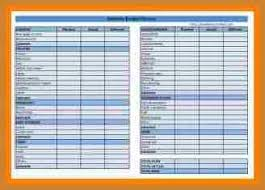 household budget template notary letter