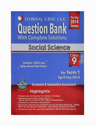 oswaal cbse cce question bank with complete solutions social