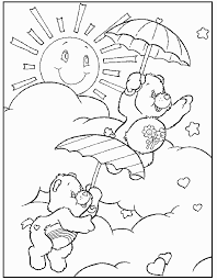 printable care bears coloring pages coloringstar