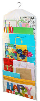 how to store wrapping paper and gift bags gift bag organizer home kitchen