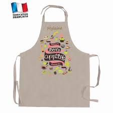 tablier de cuisine personnalisé photo tablier cuisine personnalisé luxe tenue médiévale enfant table