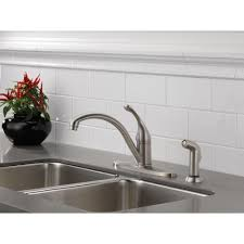 delta faucet 440 dst collins polished chrome one handle with