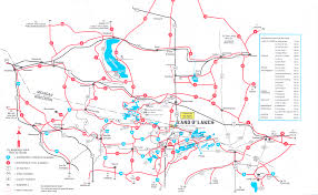 Wisconsin Casino Map by Land O U0027 Lakes Snowmobile Trail Report