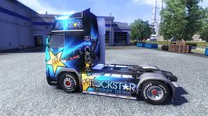 2014 volvo truck tractor rockstar energy drink on tractor volvo for euro truck simulator 2