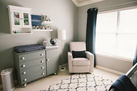 modern grey white navy baby boy nursery grayson daniel
