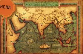 Silk Road Map China Seek Unesco Status For Maritime Silk Road Asia News Asiaone