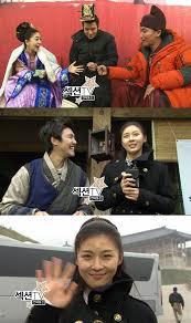 the happy cast of empress ki show their camaraderie on mbc s