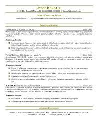 tutor description resume 100 images tutor resume sles visualcv