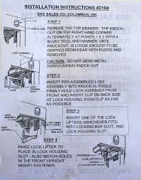 how to lock a filing cabinet without a lock se lock and key llc filing cabinet