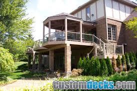 Gazebo Screen House gazebo and screen room photos mge carpentry trex deck builder