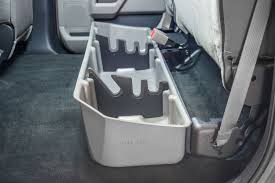 Ford F150 Truck Interior Accessories - du ha storage gun case for ford f 150 supercrews 2015