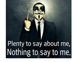 Nothing To Say Meme - plenty to say about me nothing to say to me meme on sizzle