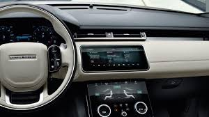 evoque land rover interior this is the 2018 range rover velar it u0027s a big deal slashgear