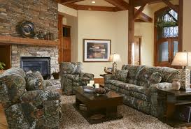 Comfortable Living Room Furniture Comfortable Living Room Interior Design With Camouflage Sofa Set
