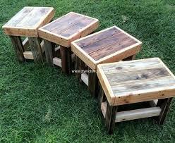 15 Unique Pallet Picnic Table 101 Pallets by Best 25 Pallet Side Table Ideas On Pinterest Diy Living Room