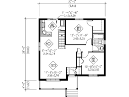 craftsman style house plan 2 beds 1 00 baths 806 sq ft plan 25 4112