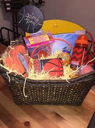 basketball gift basket 4yr basketball gift basket basketball basket