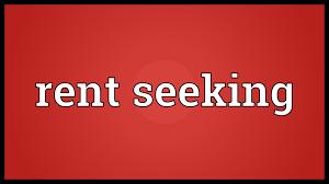 Seeking Meaning Rent Seeking Meaning
