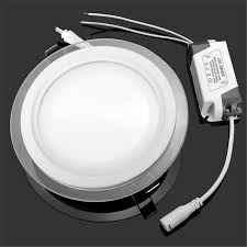 3 color change led ceiling downlight light 18w recessed ceiling