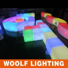 Led Outdoor Furniture - china rotating plastic led light up outdoor furniture china
