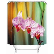 Orchid Shower Curtain Bathroom Design Shower Curtains Floral U2013 Inspirational Clothing