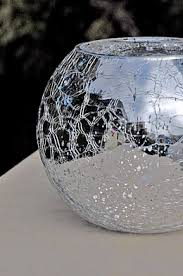 Glass Bowl Vases Bubble Bowl Vases