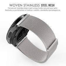 mesh steel bracelet images For samsung gear s3 milanese loop mesh watch band stainless jpg