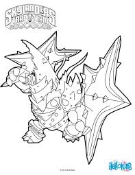 skylanders trap team coloring pages lob star character