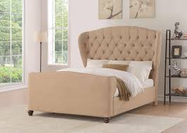 curved bed frame flair furnishings farnhill curved chesterfield fabric wing