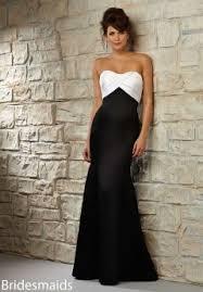 and white bridesmaid dresses discount desinger bridesmaid dresses of