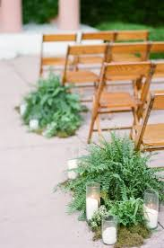 aisle markers top 20 dusty blue and copper wedding color ideas aisle markers