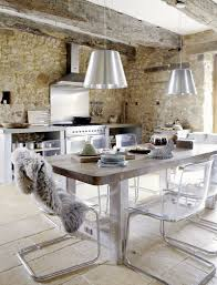 shabby chic modern kitchen precious stone old farmhouse with shabby chic details france